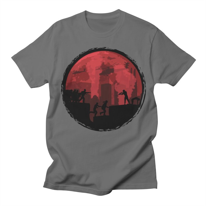 Zombies, Run! Men's T-Shirt by Kamonkey's Artist Shop
