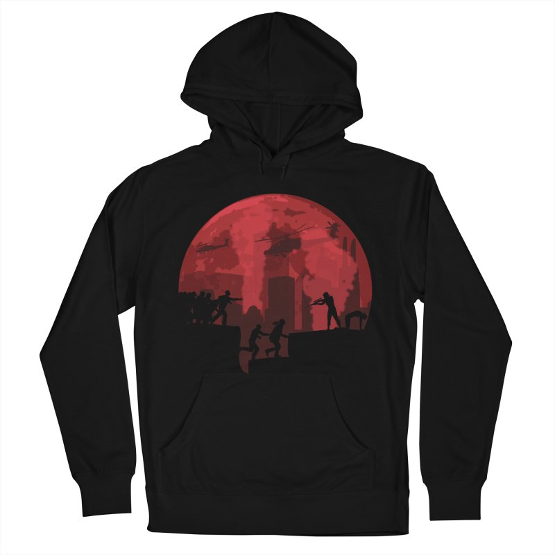 Zombies, Run! Women's French Terry Pullover Hoody by Kamonkey's Artist Shop