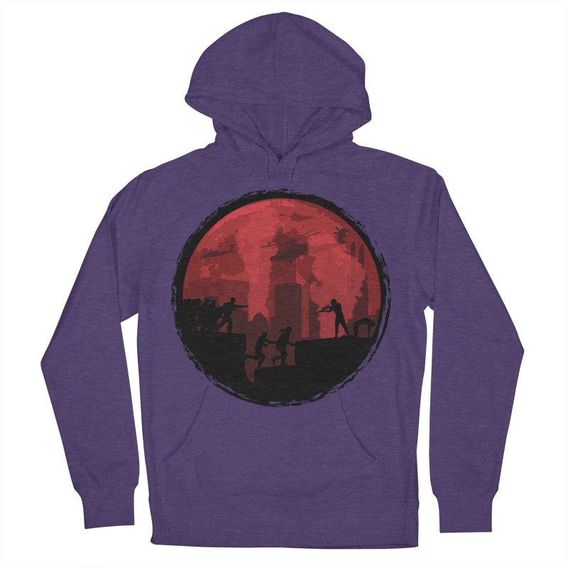 Zombies, Run! Men's Pullover Hoody by Kamonkey's Artist Shop
