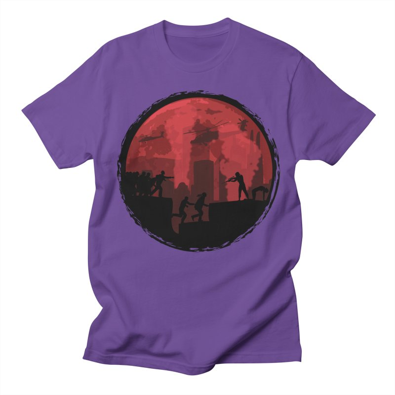 Zombies, Run! Women's Unisex T-Shirt by Kamonkey's Artist Shop
