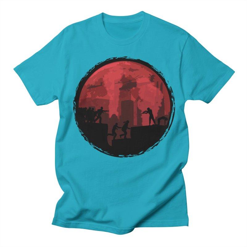 Zombies, Run! Women's Regular Unisex T-Shirt by Kamonkey's Artist Shop