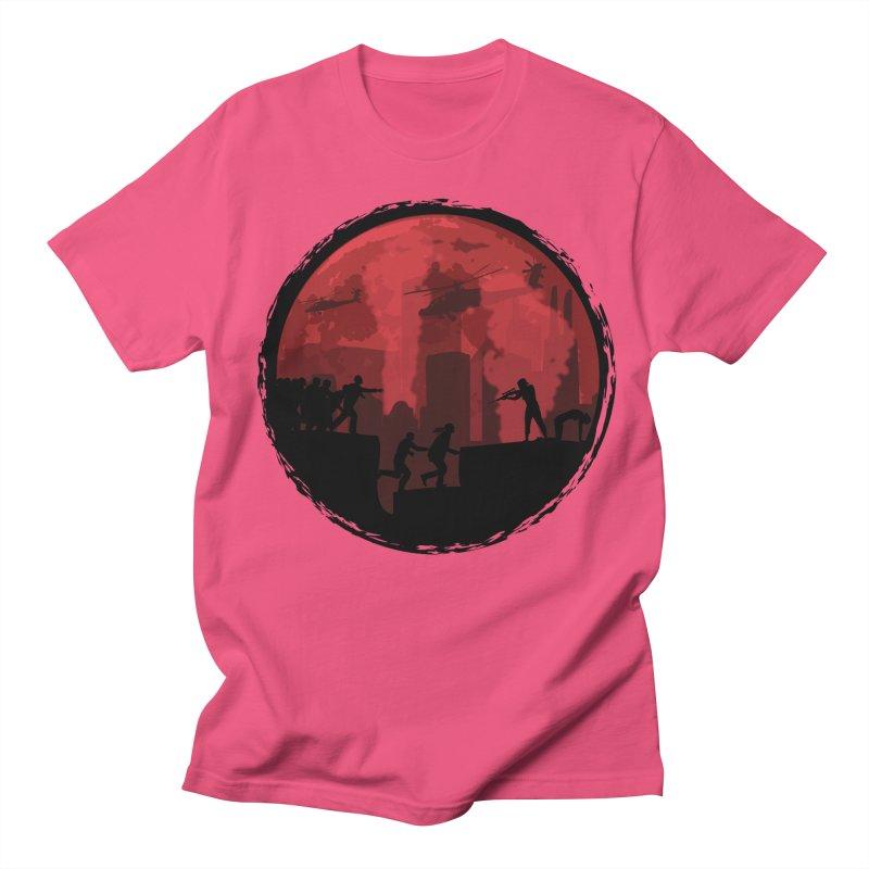 Zombies, Run! Men's T-shirt by Kamonkey's Artist Shop