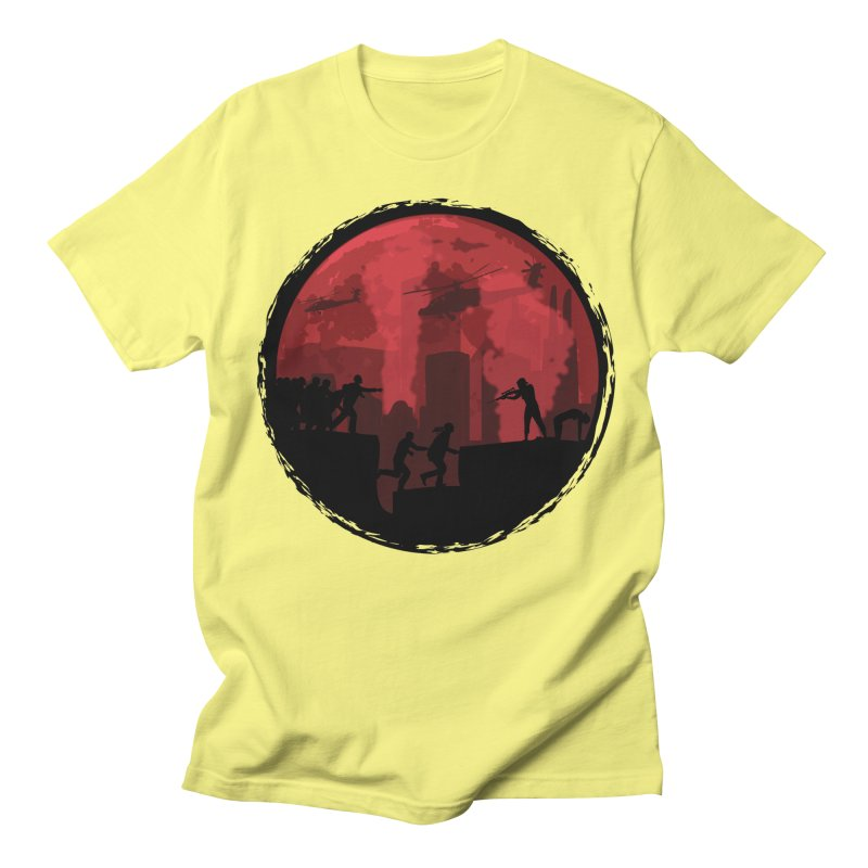 Zombies, Run! Women's Regular Unisex T-Shirt by Kamonkey's Artist Shop
