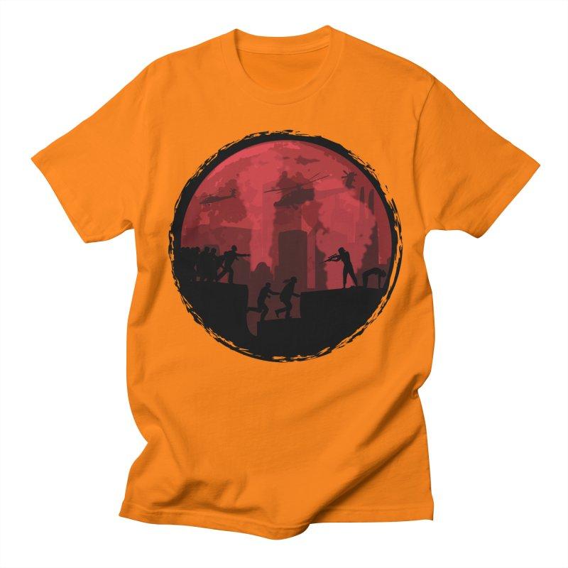 Zombies, Run! Women's Unisex T-Shirt by Kamonkey's Artist Shop