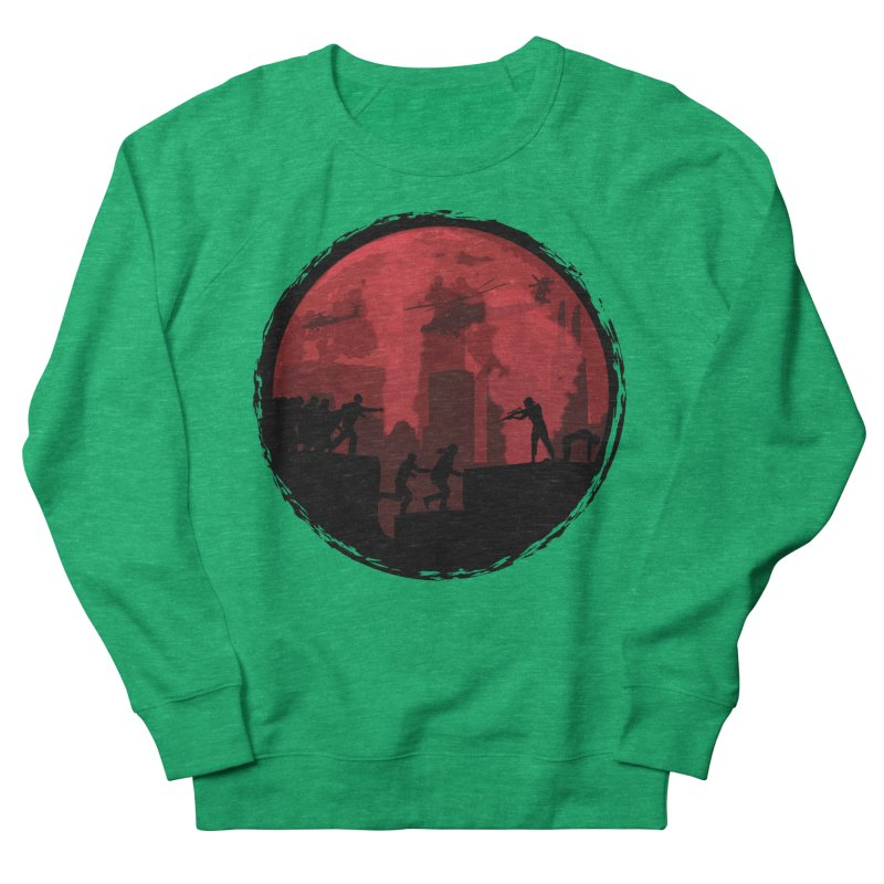 Zombies, Run! Women's Sweatshirt by Kamonkey's Artist Shop