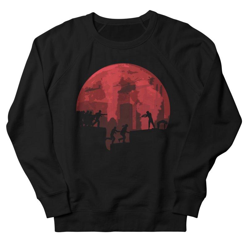 Zombies, Run! Women's French Terry Sweatshirt by Kamonkey's Artist Shop