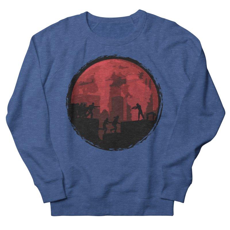 Zombies, Run! Men's French Terry Sweatshirt by Kamonkey's Artist Shop