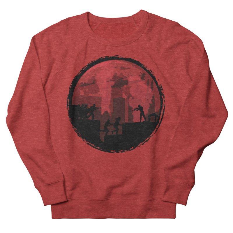 Zombies, Run! Men's Sweatshirt by Kamonkey's Artist Shop