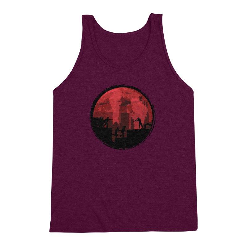 Zombies, Run! Men's Triblend Tank by Kamonkey's Artist Shop