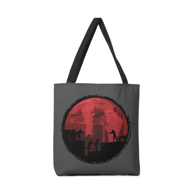 Zombies, Run! Accessories Tote Bag Bag by Kamonkey's Artist Shop