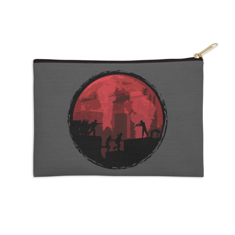 Zombies, Run! Accessories Zip Pouch by Kamonkey's Artist Shop