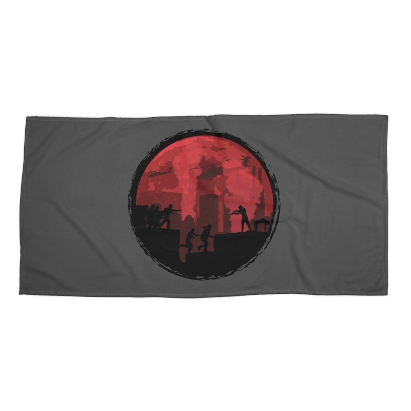 Zombies, Run! Accessories Beach Towel by Kamonkey's Artist Shop
