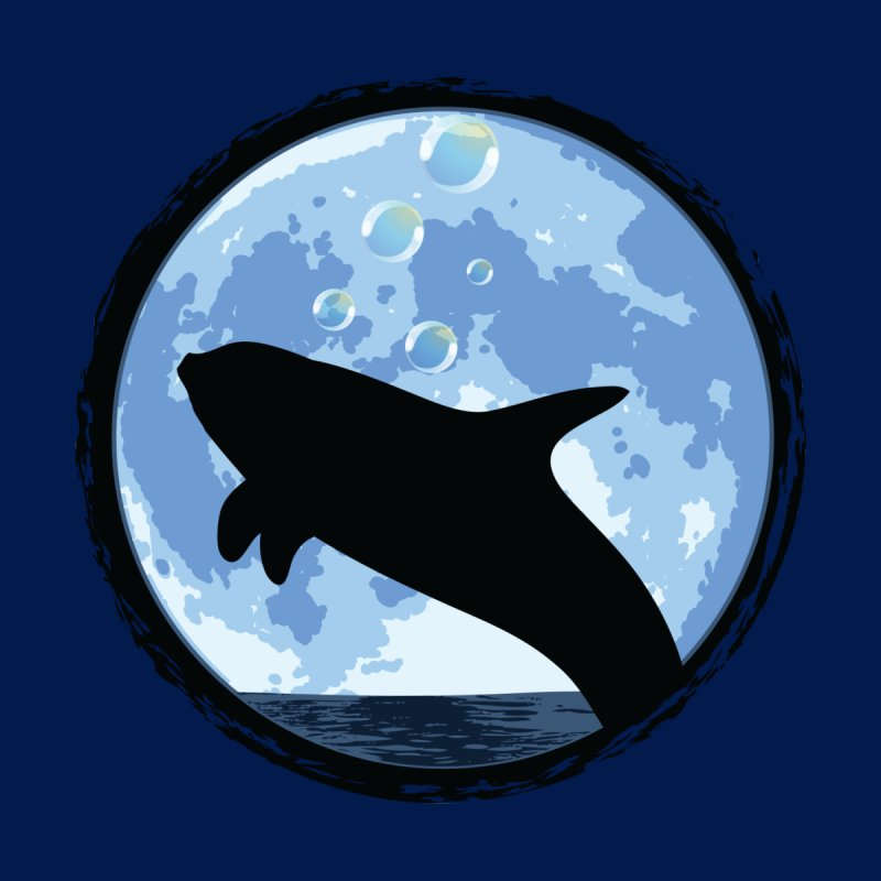 Dolphin Moon by Kamonkey's Artist Shop