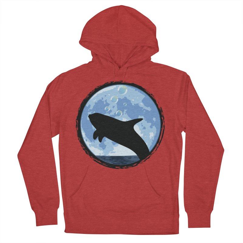 Dolphin Moon Women's Pullover Hoody by Kamonkey's Artist Shop