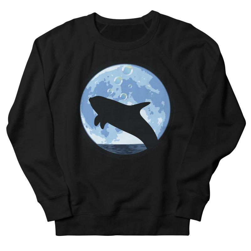 Dolphin Moon Women's Sweatshirt by Kamonkey's Artist Shop