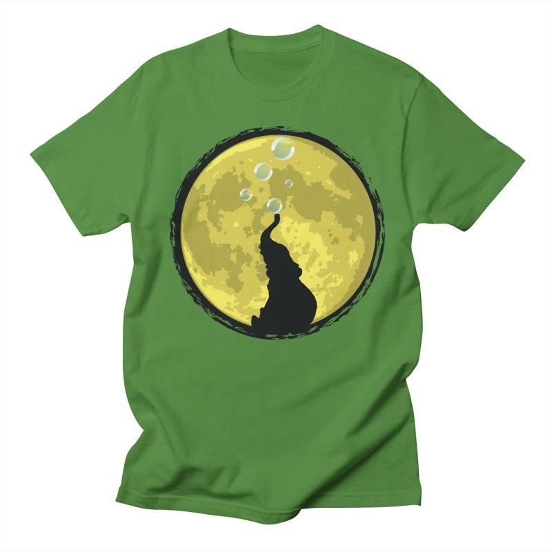 Elephant Moon Women's Unisex T-Shirt by Kamonkey's Artist Shop