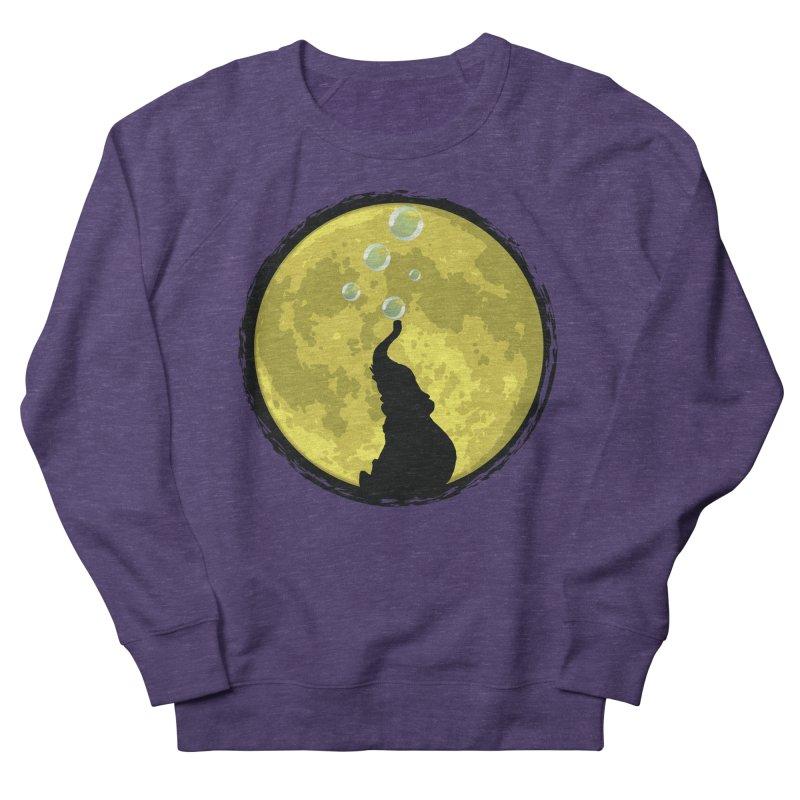 Elephant Moon Women's Sweatshirt by Kamonkey's Artist Shop