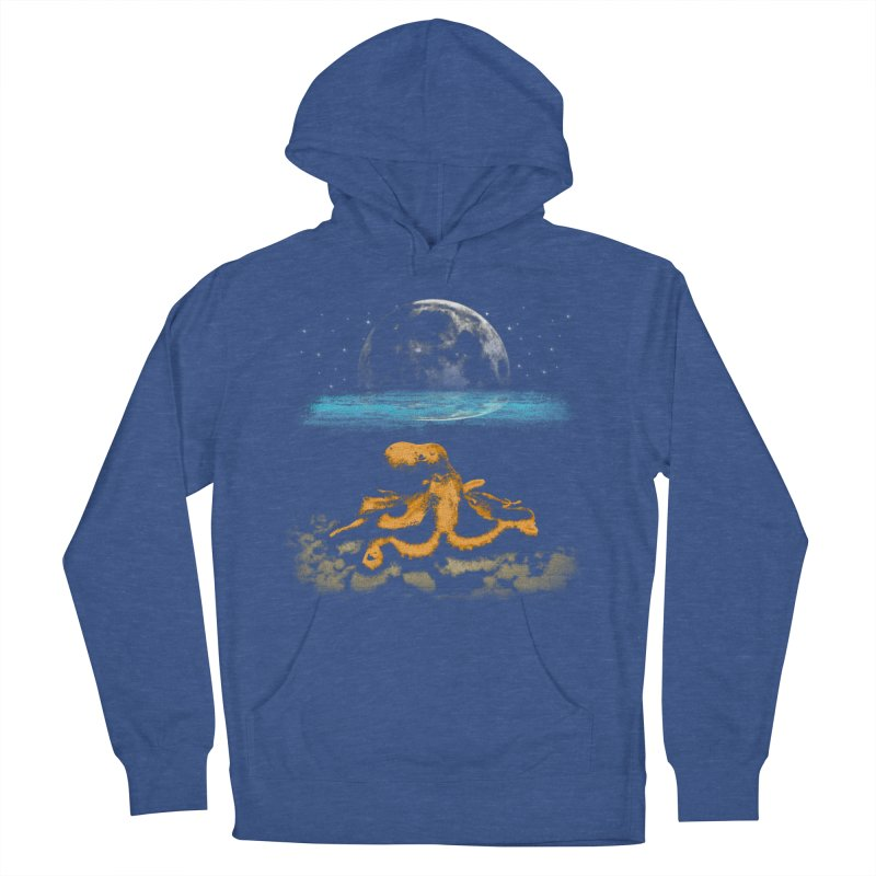 The Octopus Women's French Terry Pullover Hoody by Kamonkey's Artist Shop