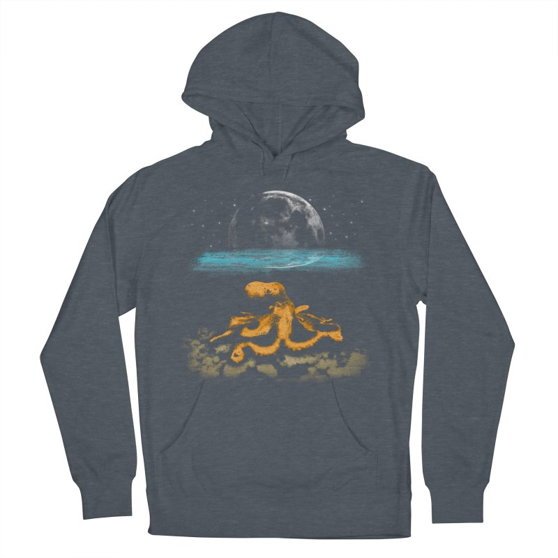 The Octopus Men's French Terry Pullover Hoody by Kamonkey's Artist Shop
