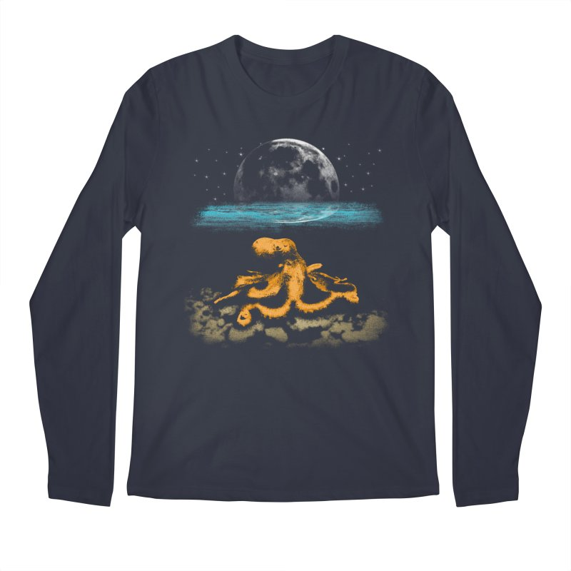 The Octopus Men's Regular Longsleeve T-Shirt by Kamonkey's Artist Shop