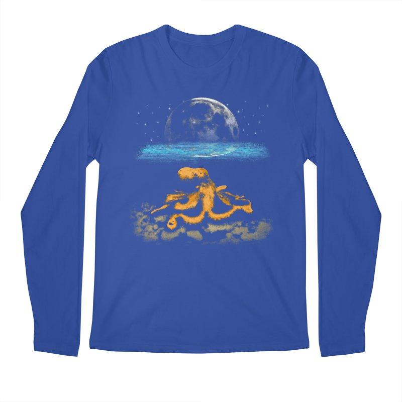 The Octopus Men's Longsleeve T-Shirt by Kamonkey's Artist Shop