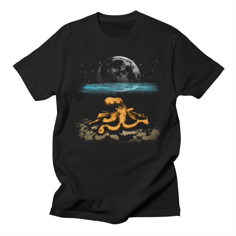 The Octopus Women's Unisex T-Shirt by Kamonkey's Artist Shop