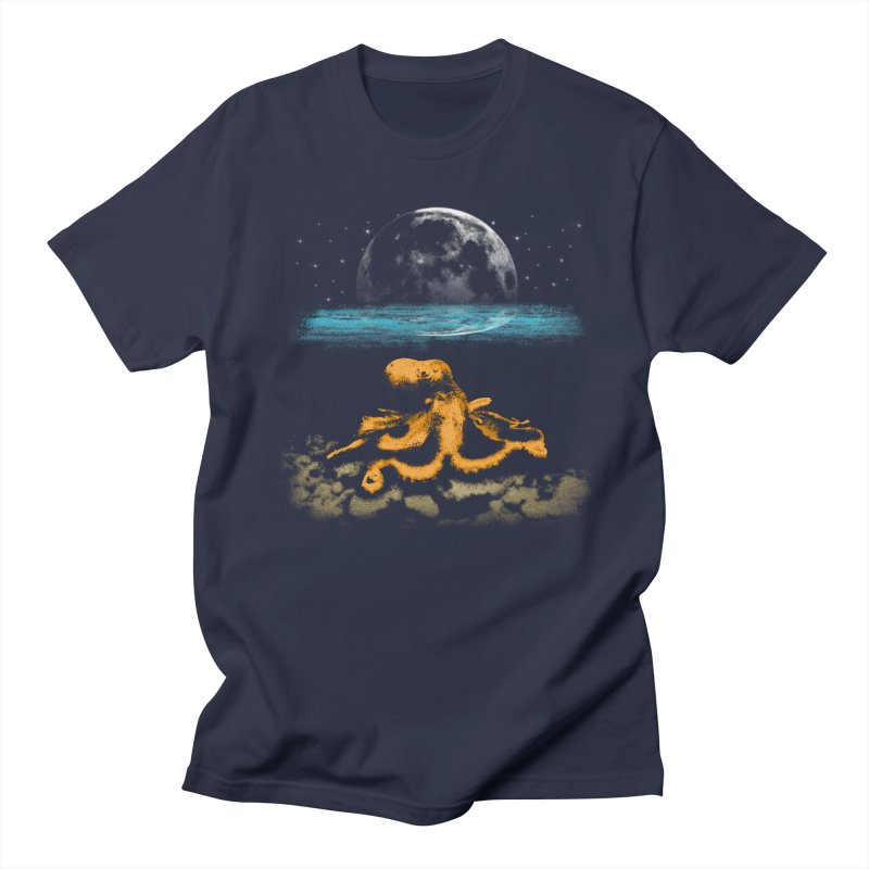 The Octopus Women's Regular Unisex T-Shirt by Kamonkey's Artist Shop