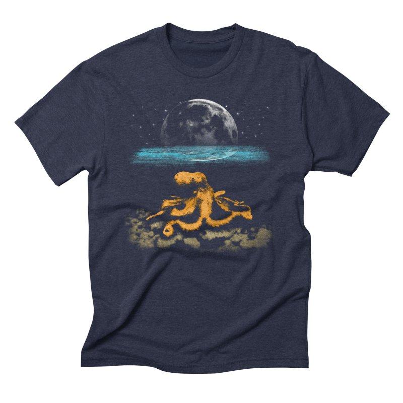 The Octopus Men's Triblend T-Shirt by Kamonkey's Artist Shop