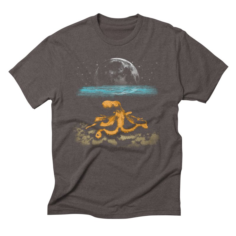 The Octopus Men's Triblend T-Shirt by Kamonkey's Artist Shop