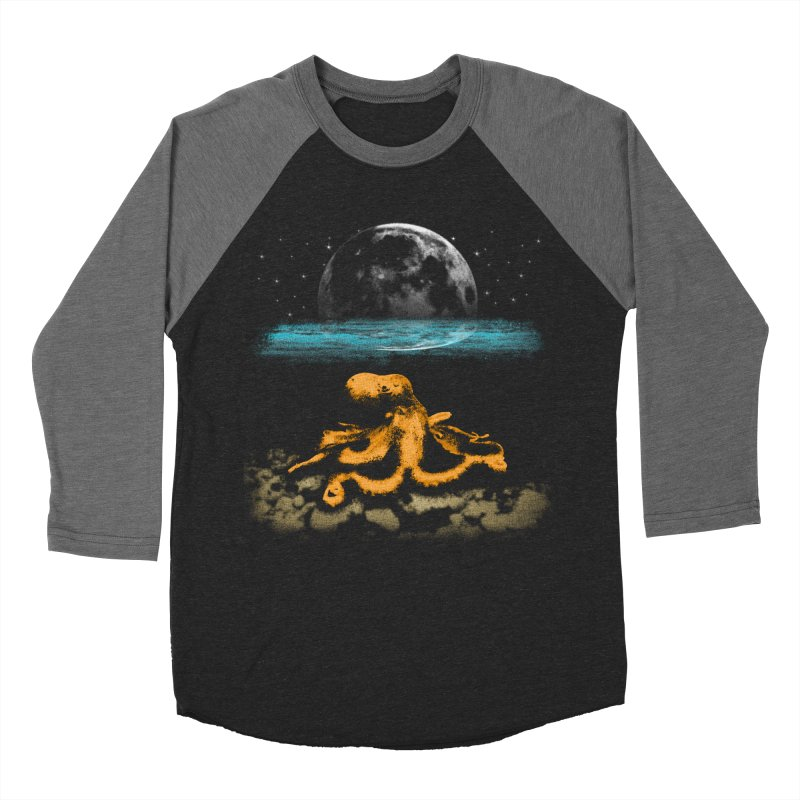The Octopus Men's Baseball Triblend Longsleeve T-Shirt by Kamonkey's Artist Shop