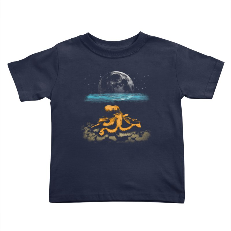 The Octopus Kids Toddler T-Shirt by Kamonkey's Artist Shop
