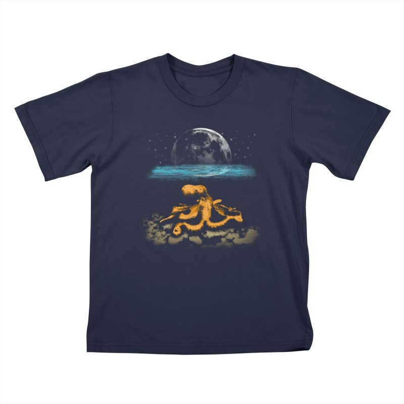 The Octopus Kids T-Shirt by Kamonkey's Artist Shop
