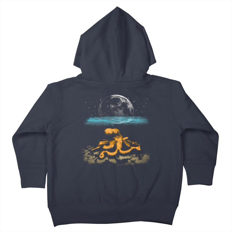 The Octopus Kids Toddler Zip-Up Hoody by Kamonkey's Artist Shop