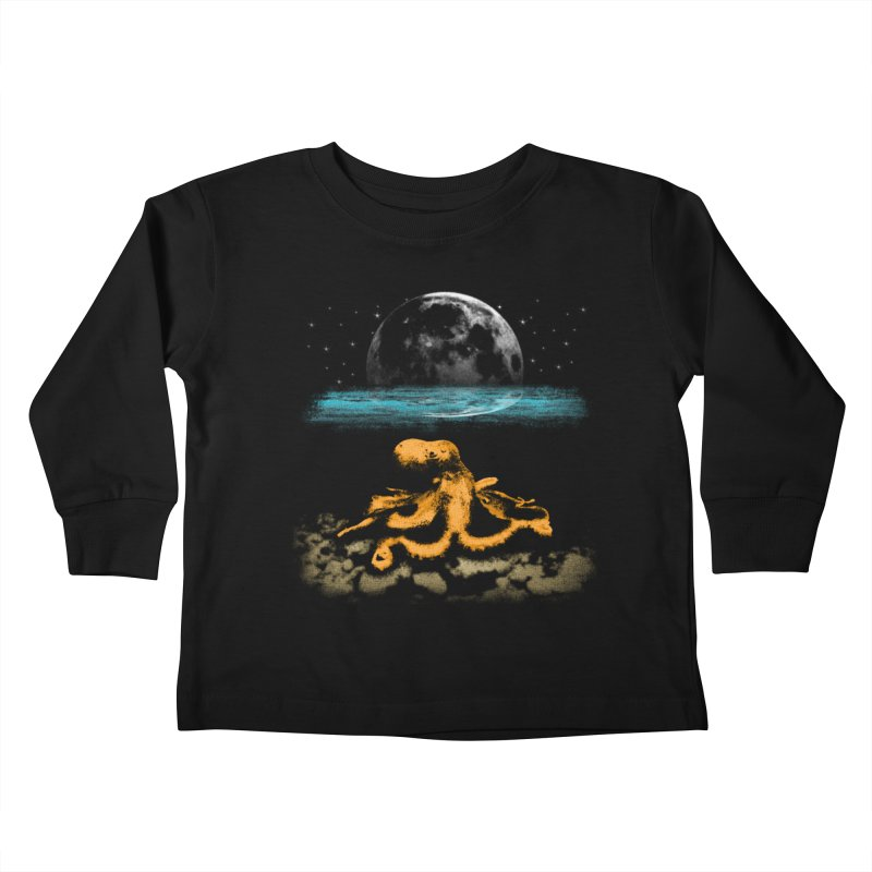 The Octopus Kids Toddler Longsleeve T-Shirt by Kamonkey's Artist Shop