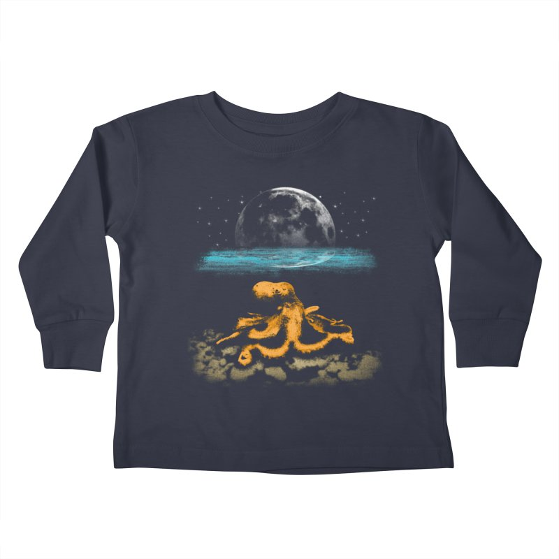 The Octopus Kids Toddler Longsleeve T-Shirt by Kamonkey's Artist Shop