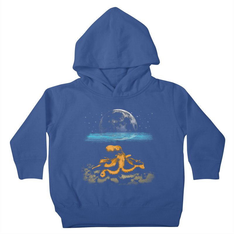 The Octopus Kids Toddler Pullover Hoody by Kamonkey's Artist Shop