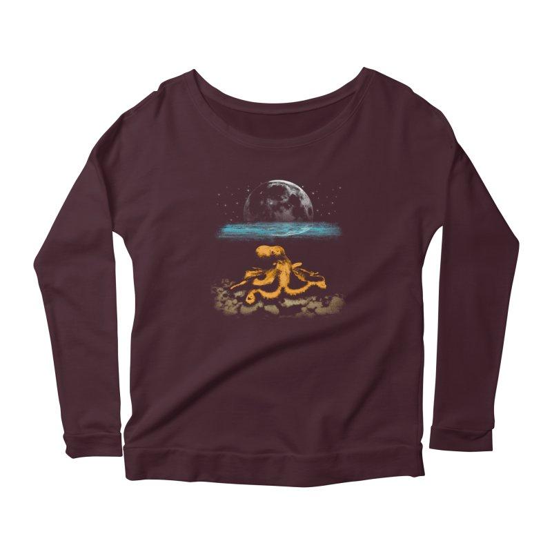 The Octopus Women's Scoop Neck Longsleeve T-Shirt by Kamonkey's Artist Shop