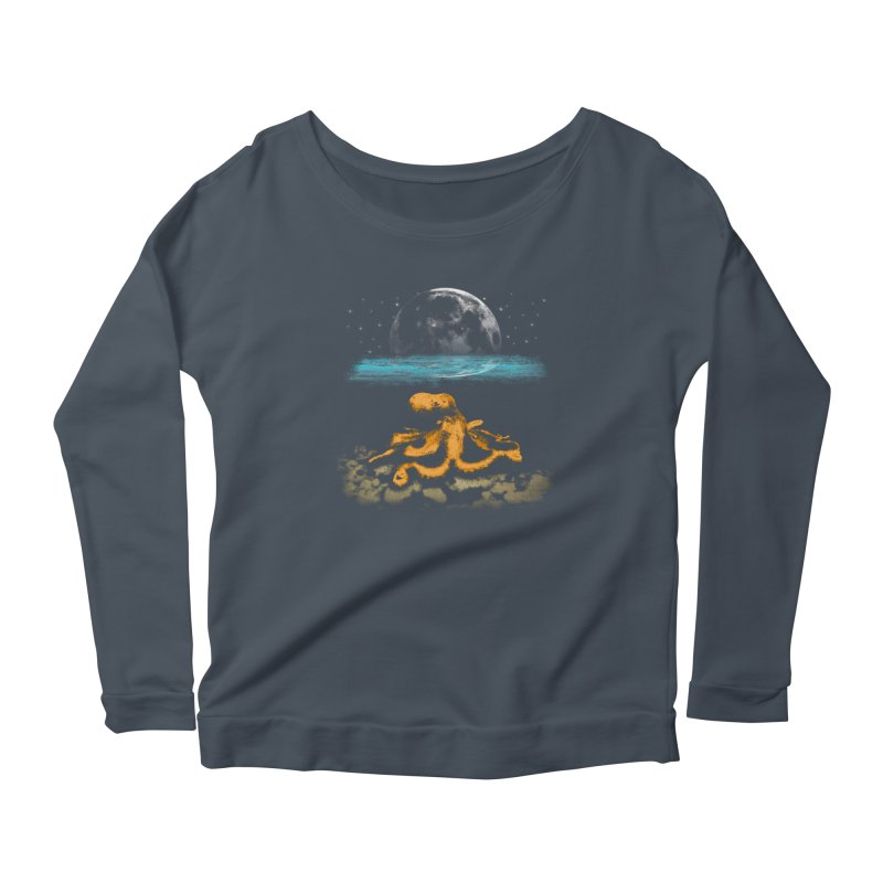 The Octopus Women's Scoop Neck Longsleeve T-Shirt by Kamonkey's Artist Shop
