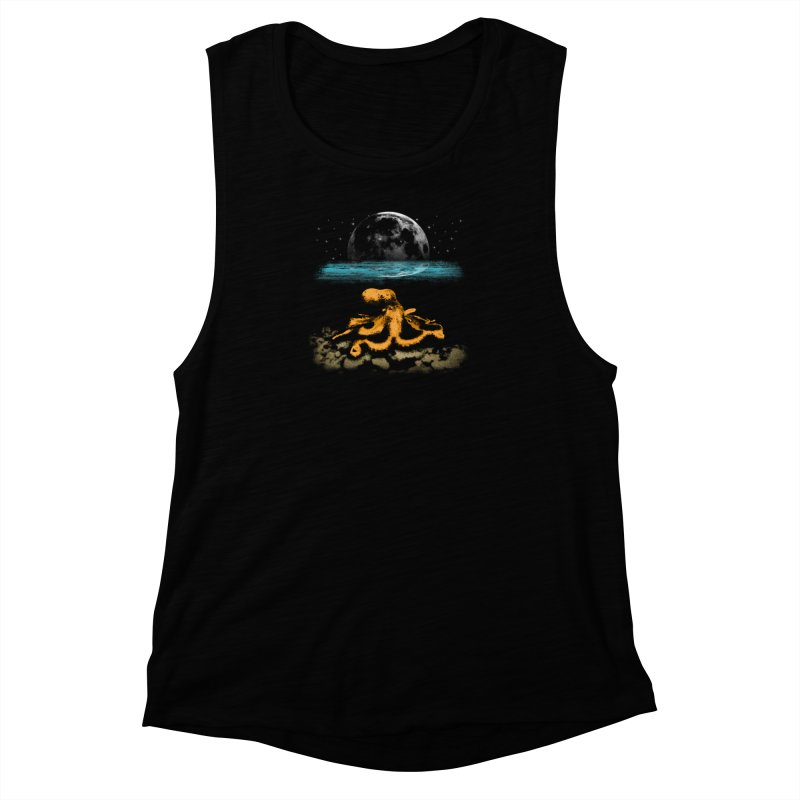 The Octopus Women's Muscle Tank by Kamonkey's Artist Shop