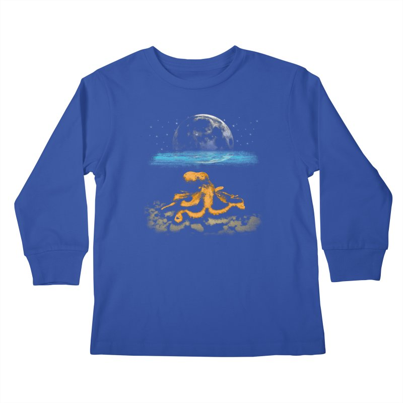 The Octopus Kids Longsleeve T-Shirt by Kamonkey's Artist Shop