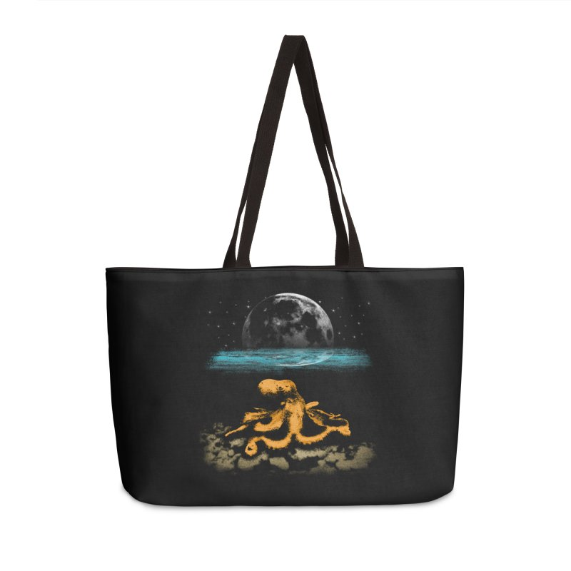 The Octopus Accessories Weekender Bag Bag by Kamonkey's Artist Shop