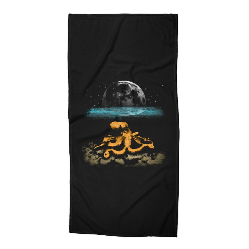 The Octopus Accessories Beach Towel by Kamonkey's Artist Shop