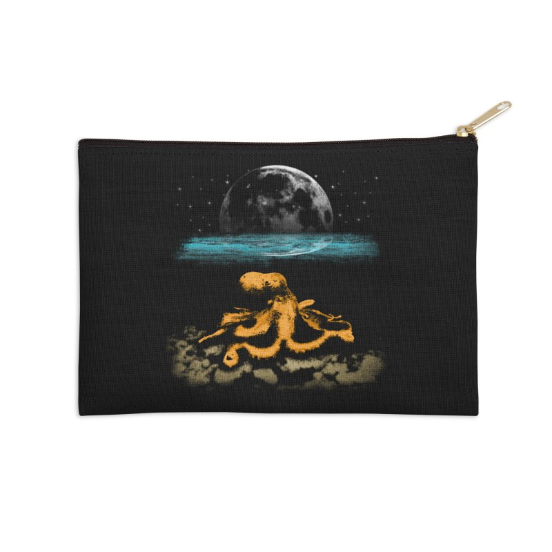 The Octopus Accessories Zip Pouch by Kamonkey's Artist Shop