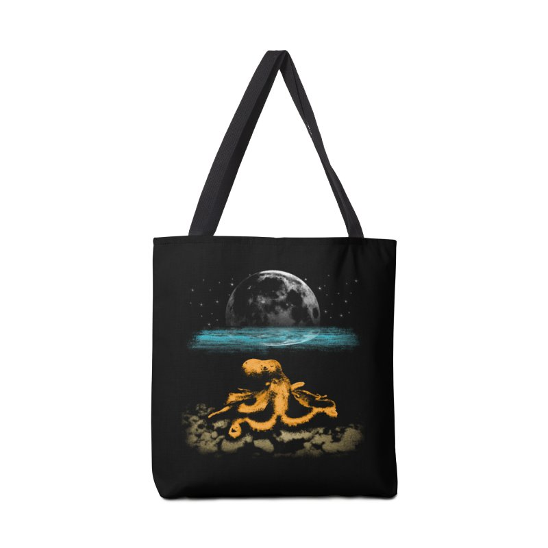 The Octopus Accessories Tote Bag Bag by Kamonkey's Artist Shop