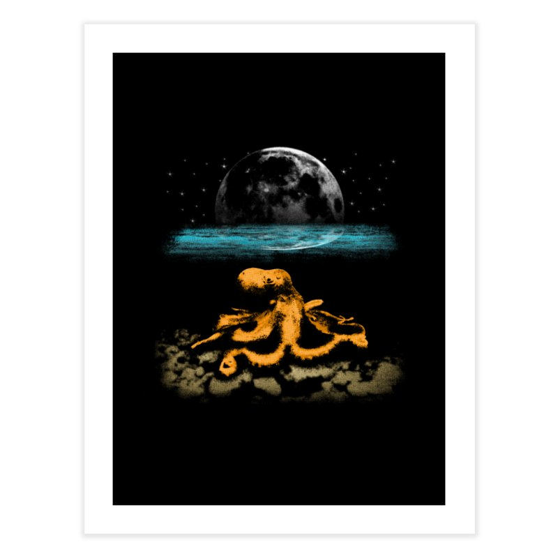 The Octopus Home Fine Art Print by Kamonkey's Artist Shop