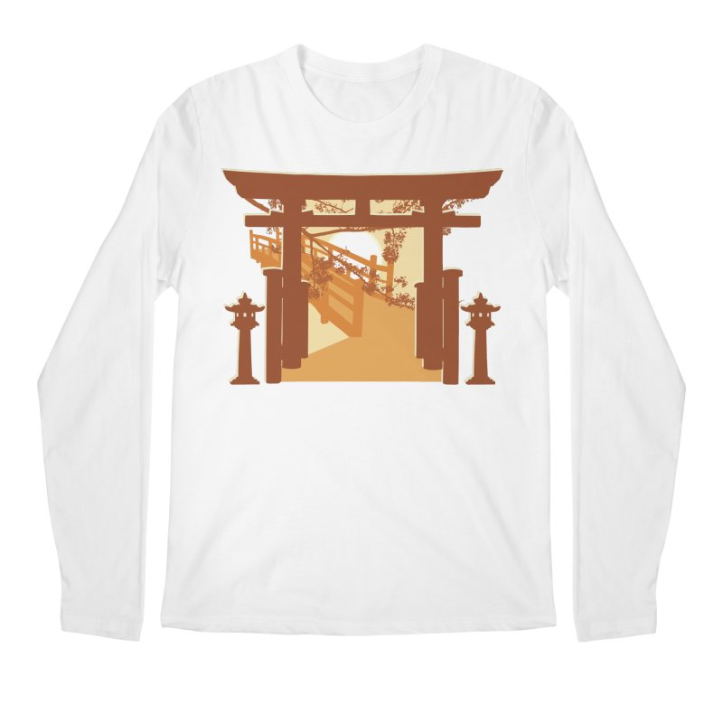 The Temple Men's Longsleeve T-Shirt by Kamonkey's Artist Shop