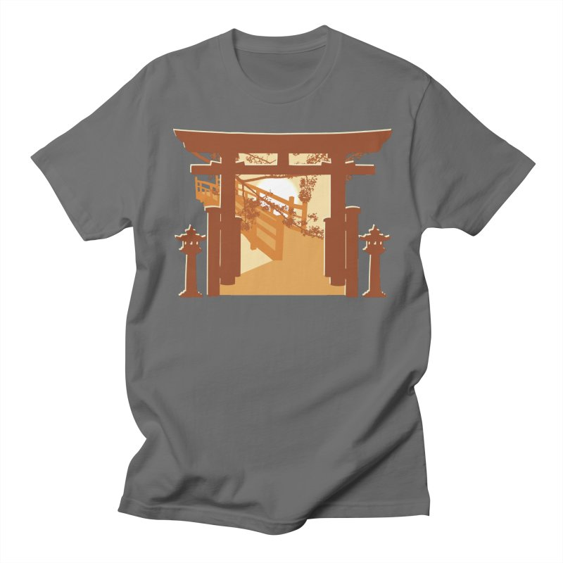 The Temple Women's Regular Unisex T-Shirt by Kamonkey's Artist Shop
