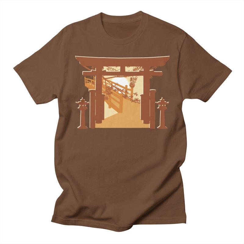 The Temple Women's Unisex T-Shirt by Kamonkey's Artist Shop