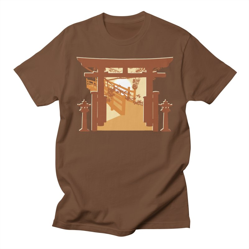 The Temple Men's T-Shirt by Kamonkey's Artist Shop