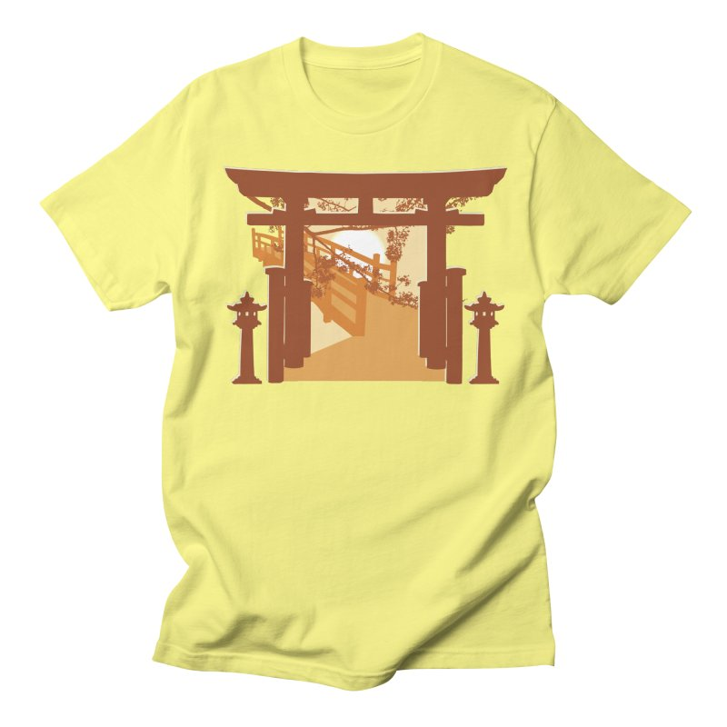 The Temple Men's Regular T-Shirt by Kamonkey's Artist Shop